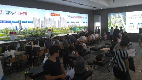 [포토뉴스] 다산  '유승한내들'견본주택