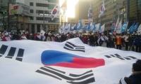 [포토뉴스]탄핵후 태극기집회 행진