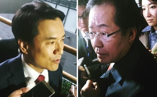 문재인 대세, 홍준표 김진태 유승민 보수단일화 성사되나