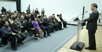 [포토]도종환 문체부장관 공예트렌드페어 개막식 참석