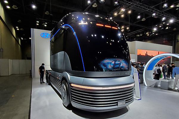 현대차, '넥쏘·넵튠'부터 수소연료전지까지 총출동